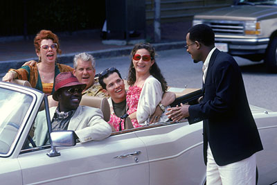 Ana Gasteyer Siobhan Fallon, Bernie Mac, Lenny Clarke, John Leguizamo,  and Martin Lawrence in MGM's What's The Worst That Could Happen - 2001
