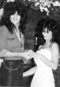 Elaine Starchuk  and Tommy Lee Married