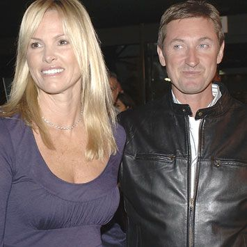 Janet Jones Wayne Gretzky and Janet Gretzky