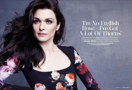 Rachel Weisz - Marie Claire Magazine Pictorial [United Kingdom] (September 2012)