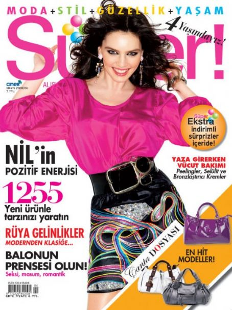Nil Karaibrahimgil - Süper Magazine [Turkey] (May 2008)