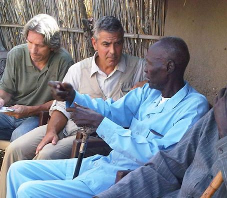 George Clooney Takes His Humanitarian Efforts To Africa