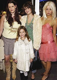 Tiger Lily Hutchence Peaches Geldof