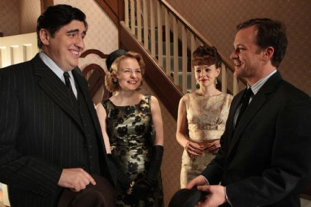 Cara Seymour Left to Right: Alfred Molina as Jack,  as Marjorie, Carey Mulligan as Jenny, and Peter Sarsgaard as David. Photo taken by Kerry Brown, Courtesy of Sony Pictures Classics