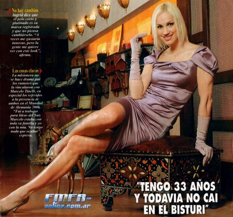 Ingrid Grudke - Pronto Magazine August 12 2009