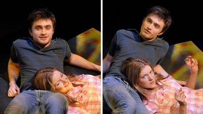 Laura O'Toole Daniel Radcliffe and Laura O'toole