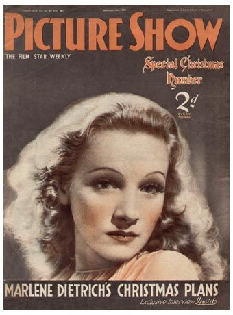 Marlene Dietrich - Picture Show Magazine [United Kingdom] (5 December 1936)