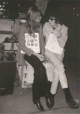Françoise Hardy Francoise Hardy and Bob Dylan