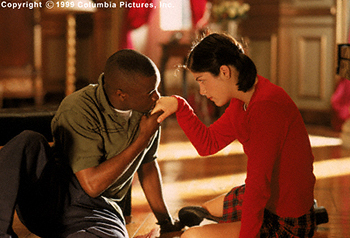 Cruel Intentions Selma Blair and Sean Patrick Thomas in Columbia's  - 1999