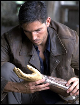 Jim Caviezel in New Line Cinema's Highwaymen.