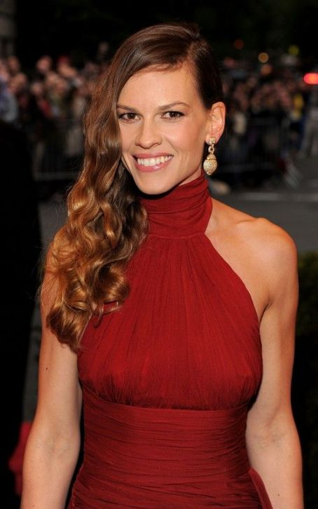 Hilary Swank's Big Night at 2012 Met Gala