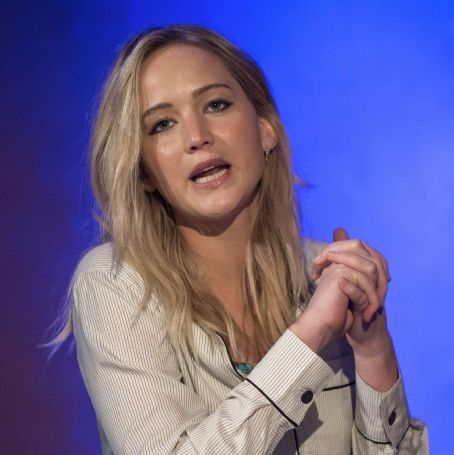 Jennifer Lawrence – Unrig the System Summit in New Orleans