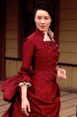 Deadwood Molly Parker as Alma Garret Ellsworth on
