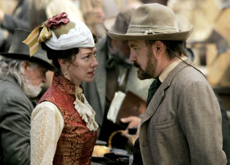 Deadwood Molly Parker and Jim Beaver on