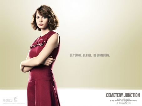 Felicity Jones Cemetery Junction Wallpaper