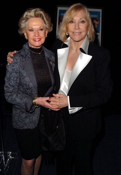 Tippi Hedren and Kim Novak