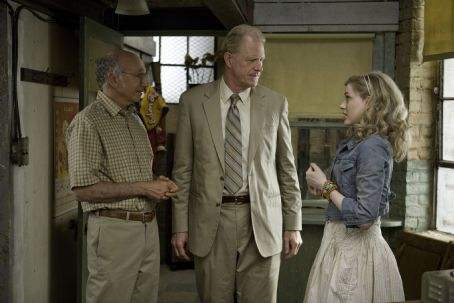 Ed Begley Jr. Left to Right: Larry David as Boris, Ed Begley, Jr. as John, and Evan Rachel Wood as Melody. Photo taken by Jessica Miglio, © Gravier Productions, Courtesy of Sony Pictures Classics