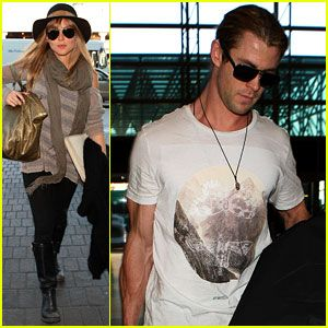 Chris Hemsworth & Elsa Pataky: Los Angeles to London!