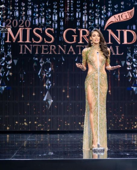 Lala Guedes : Miss Grand International 2020 Final- Evening Gown Competition
