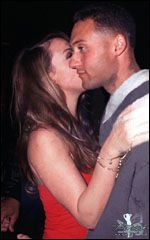 Derek Jeter  and Mariah Carey