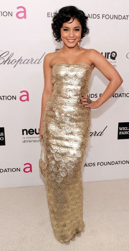 Vanessa Hudgens: Elton John AIDS Foundation Academy Awards