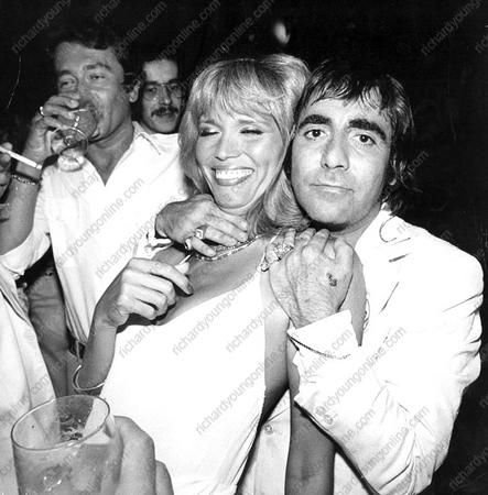 Amanda Lear  and Keith Moon