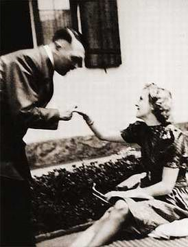 Eva Braun Adolf Hitler and