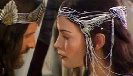 The Lord of the Rings: The Return of the King Liv Tyler and Viggo Mortensen