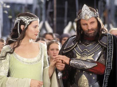 The Lord of the Rings: The Return of the King Viggo Mortensen and Liv Tyler - The Lord of The Rings - The Return of The King (2003)