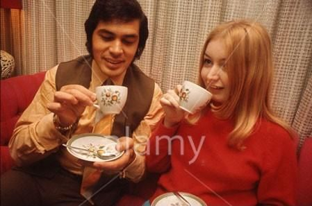 Mary Hopkin  and Eddie Humperdink, 1968
