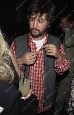Jason Starkey  at Bill Wyman book Launch, 21.10.2002