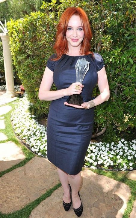 Christina Hendricks: Critics' Choice TV Awards Adorable