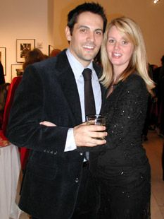 Michael Landes  and Wendy Benson-Landes