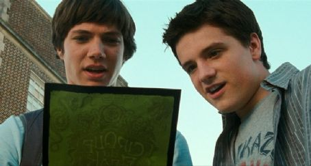 Cirque du Freak: The Vampire's Assistant Chris Massoglia as Darren Shan and Josh Hutcherson as Steve in Universal Pictures' Cirque du Freak: The Vampire's Assistant.