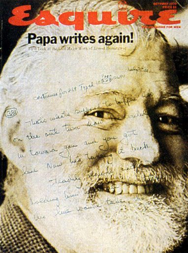 Ernest Hemingway  - October 1970 issue
