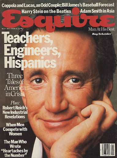 Roy Scheider  - May 1983 issue