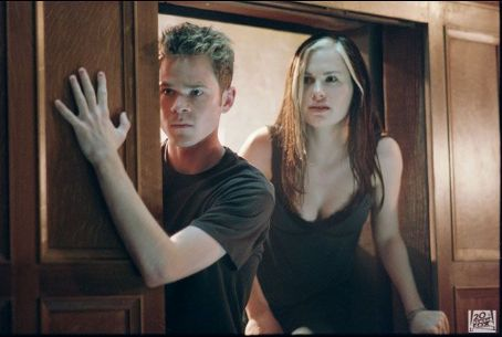 Rogue Shawn Ashmore as Iceman and Anna Paquin as  in 20th Century Fox's X2: X-Men United - 2003
