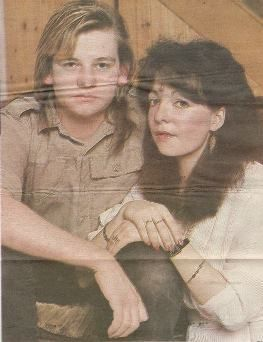 Zak Starkey  and Sarah Menedikes
