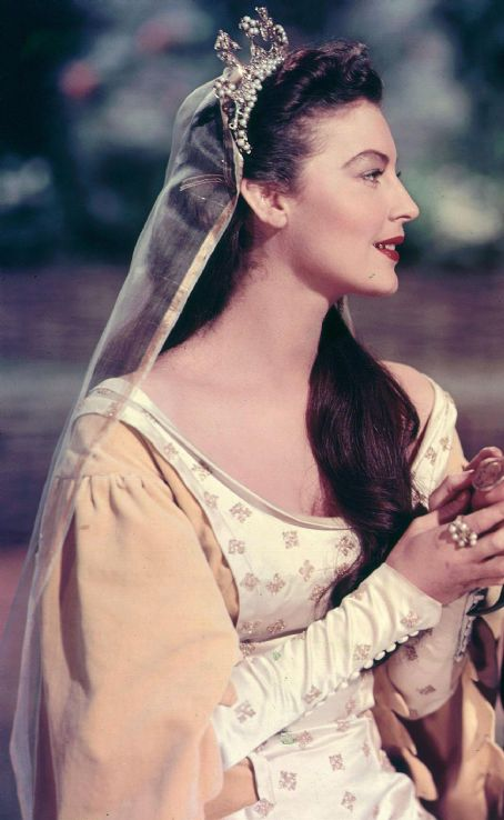 Guinevere Ava Gardner in Knights of the Round Table (1953)