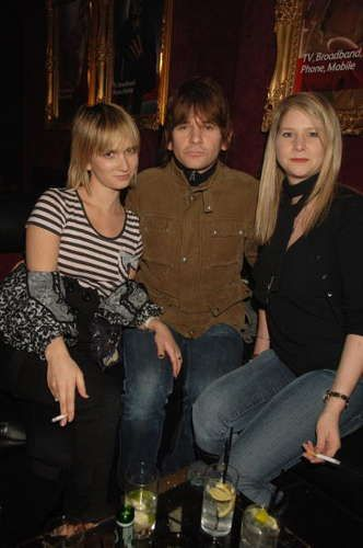 Zak Starkey  and Sharna Liguz with Lee Starkey (Zak's sister), February 2007