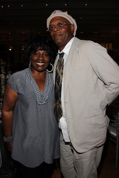 Samuel L. Jackson LaTanya Richardson and Samuel Jackson