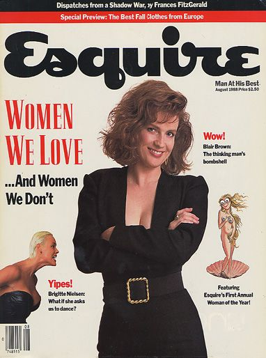 Blair Brown  - August 1988 issue