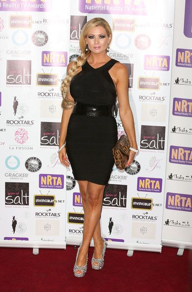 Nicola McLean attends the National Reality TV Awards