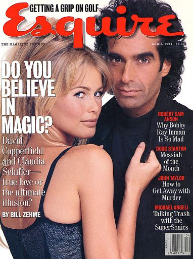David Copperfield  - April 1994 issue