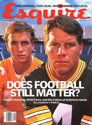Brett Favre  - September 1997 issue