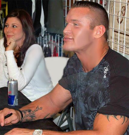 Randy Orton and Samantha Speno