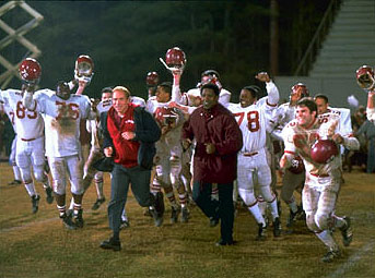 Will Patton Based on a true story, Walt Disney Pictures' Remember the Titans (2000) follows the events that took place in Alexandria, Virginia in 1971 when African-American football coach Herman Boone (Academy Award®-winner Denzel Washington) was hired to guide a