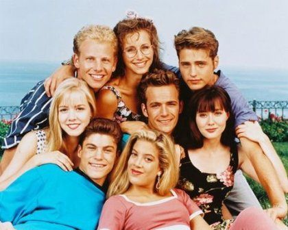Gabrielle Carteris Beverly Hills, 90210 Original Cast (1990)