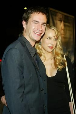James D'Arcy and Lucy Punch