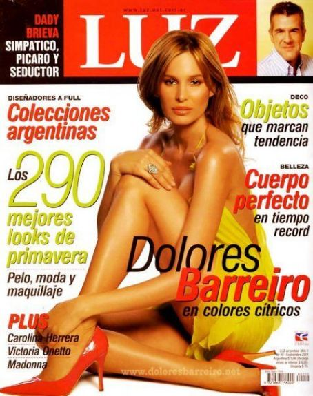 Dolores Barreiro - Luz Magazine Cover [Argentina] (September 2004)